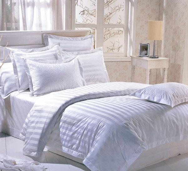 Bed linen, Manostiles, White bed linen