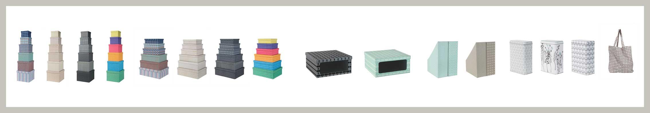 storage boxes, magazine holder, shoeboxes, boxes