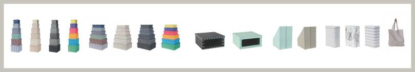 storage boxes, magazine holder, shoeboxes, boxes