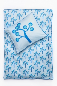 Junior Bedding – Graphic Tree Blue. Organic Cotton Size 100×140 Euro 47