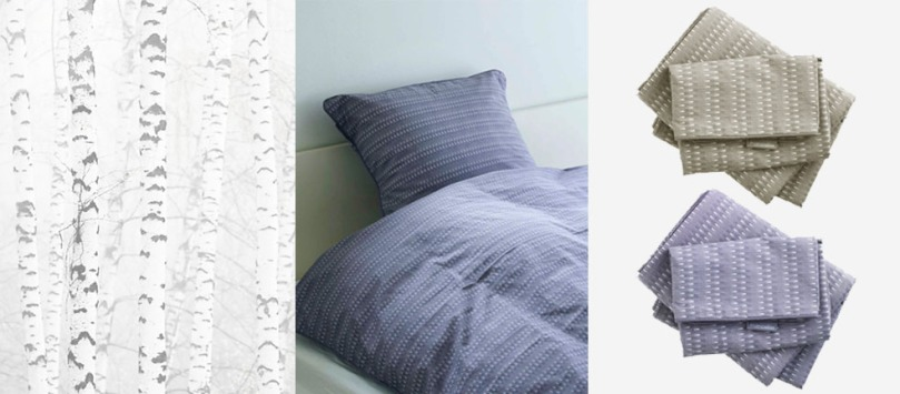 Organic bedding: Duvet covers and pilow: Size 140x200 - 60x63 and 140x220 - 60x63