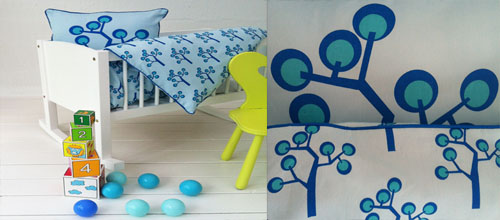 Kids boy blue bedding
