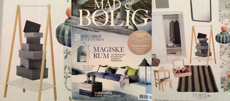 MANOSTILES DANISH DESIGN in danish press