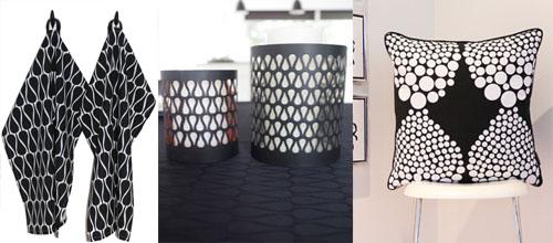Danish design back and white