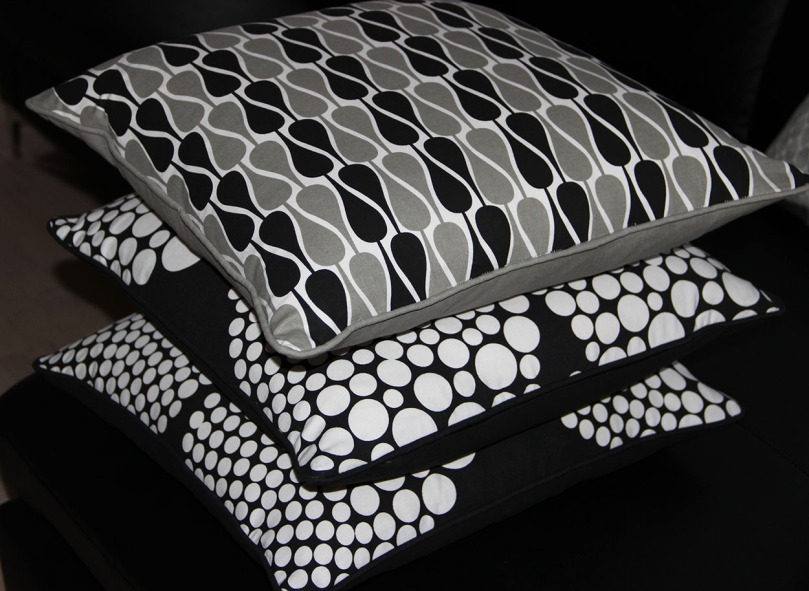 puder, design, sort, grå, hvid.