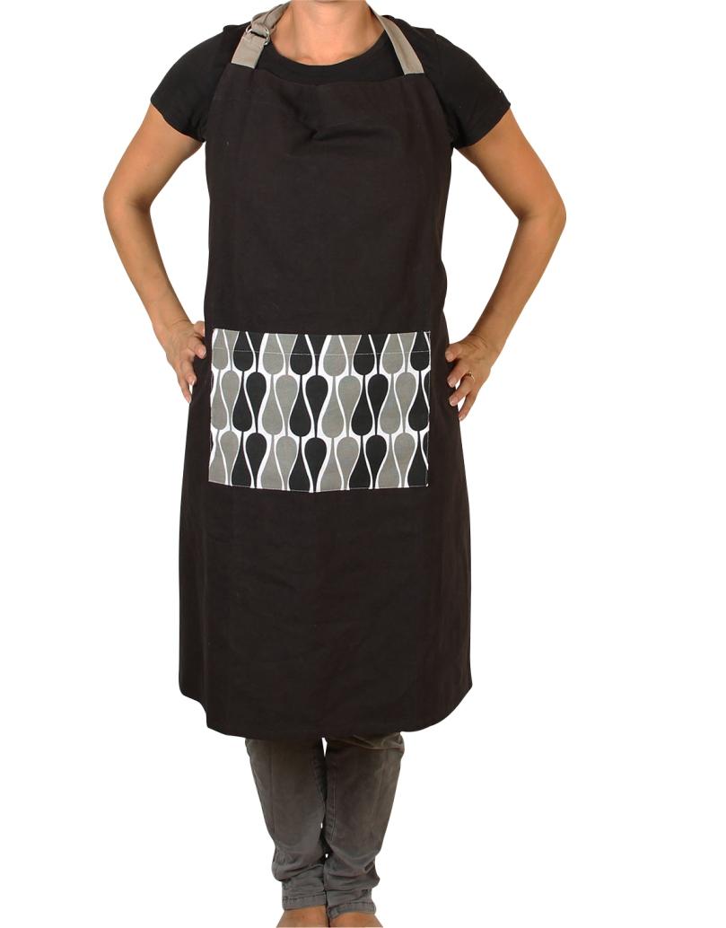 black apron by Manostiles  Danish Design