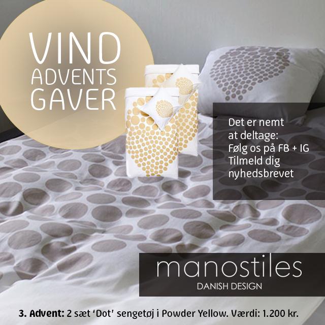 adventsgaven fra manostiles dansk design