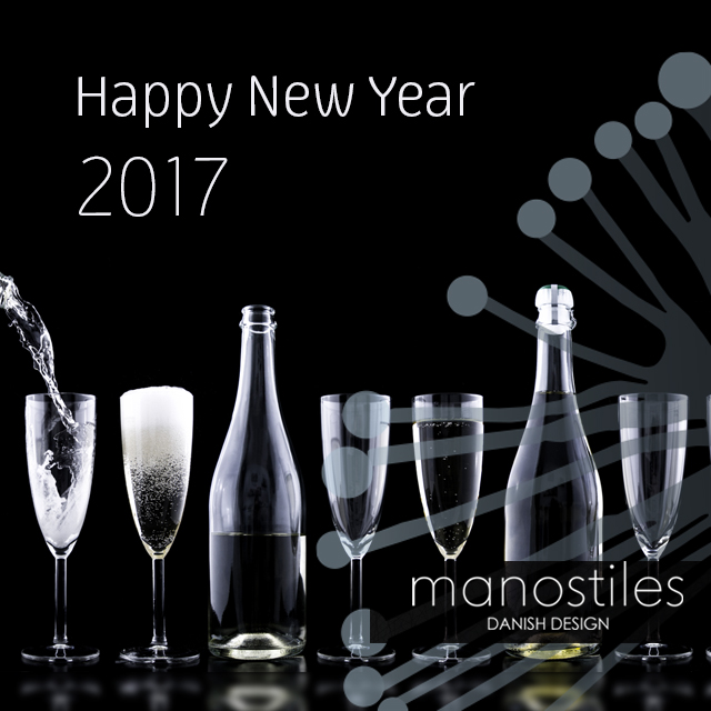 Manostiles wish you a happy new year 2017