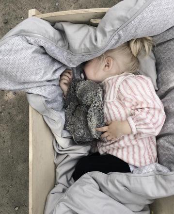 Manostiles Grey baby sengetøj