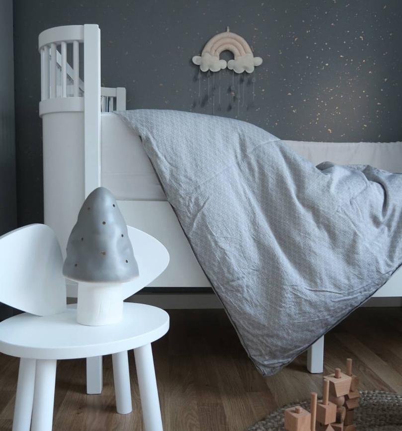 Gråt sengetøj fra Manostiles