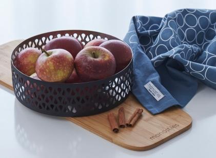 Manostiles tea towels blue